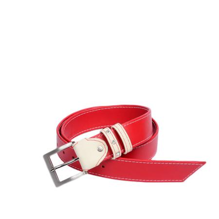 Gürtel Ena Rot/Weiß